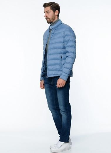 George Hogg Şişme Mont Mavi